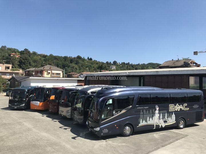 Flotta autobus GT