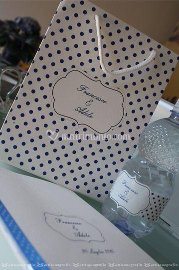 Wedding bag, libricino messa