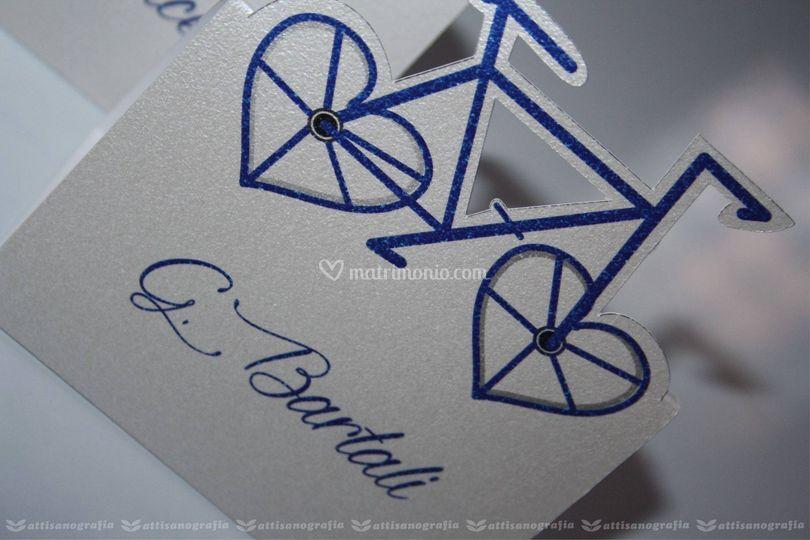 Segnatavolo bicicletta