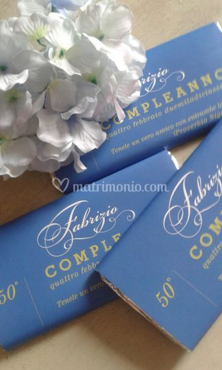 Inviti Tavolette cioccolato