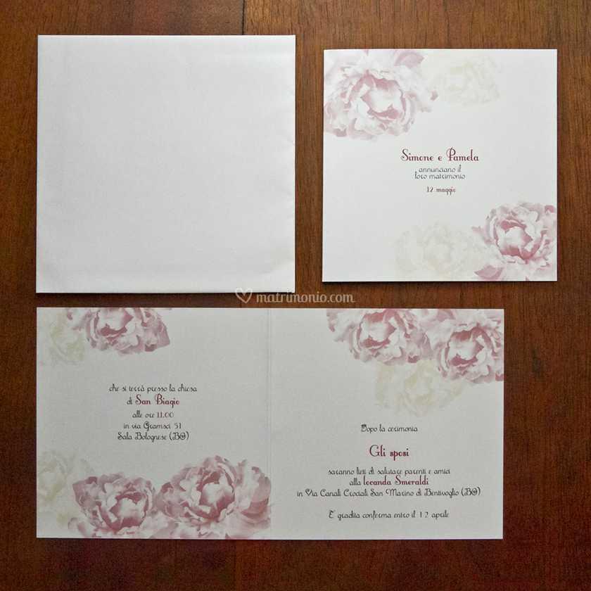 Partecipazioni Per Matrimonio Zola Predosa.Partecipazione Quadrate Di Partecipazioni Per Matrimonio Foto 51