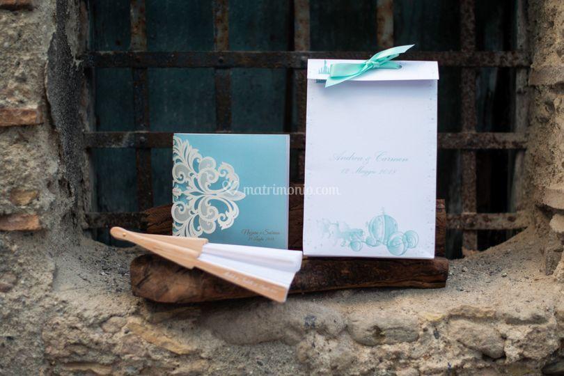 Wedding Bag ventaglio libretto