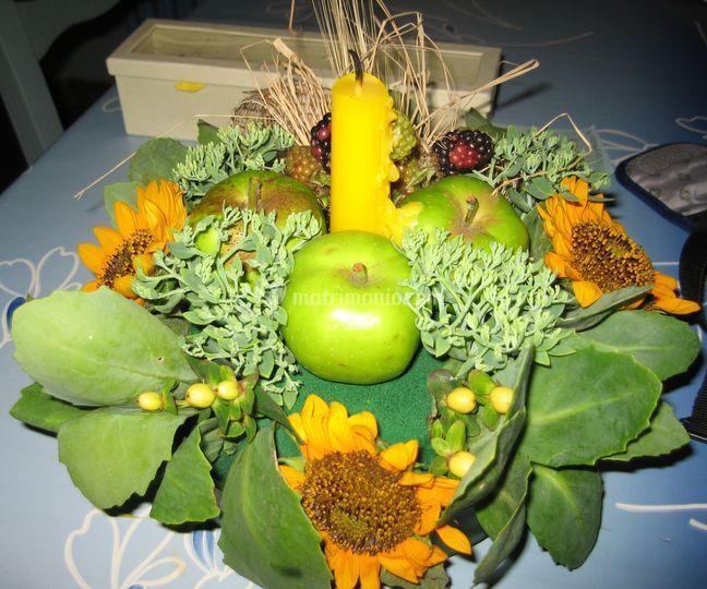 Momenti preziosi - Centro tavola con frutta ...