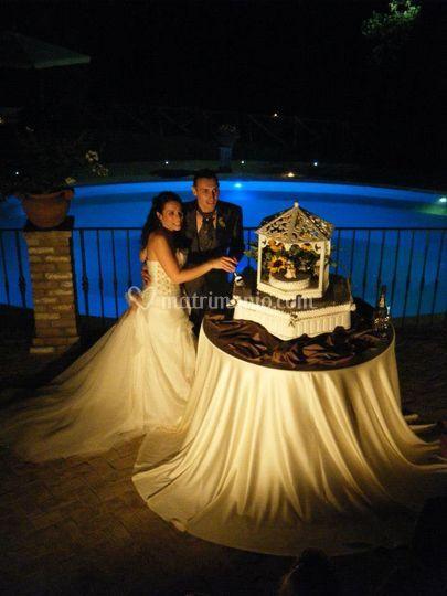 Wedding cake's time