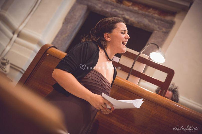 Celebrazione organo e voce