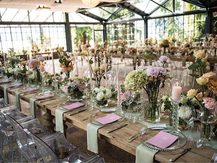 Table set up (Lago Maggiore)