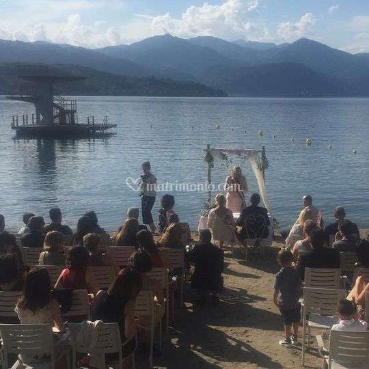 Cerimonia Civile sul Lago C&E