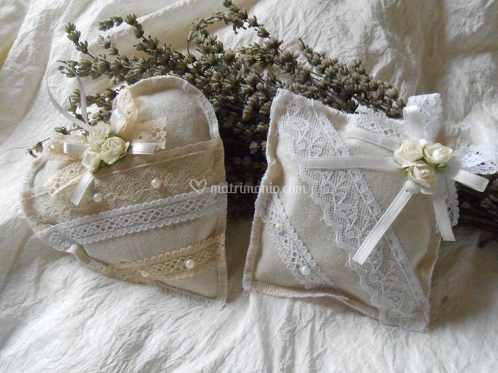 Bomboniere Matrimonio Toscana : Bomboniere naturali con lavanda