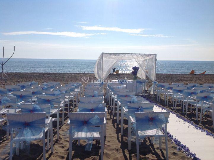 Beach cerimony