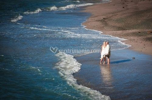 Coppia in riva