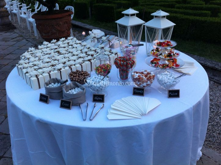 Confettata e candy table