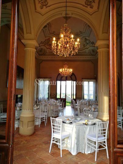 Villa Manodori allestimento