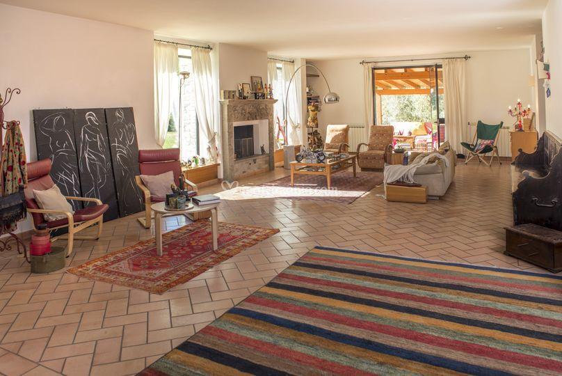 Villa Risana salone interno