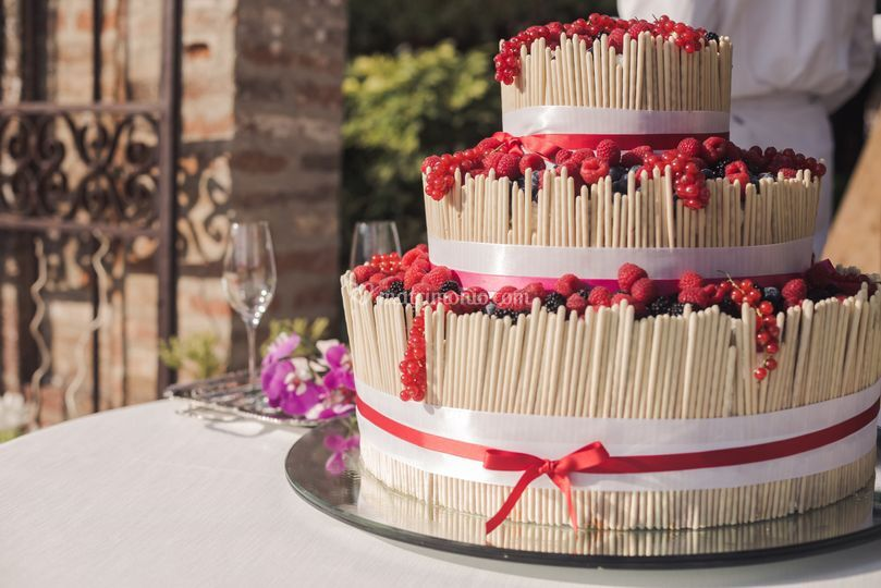 Wedding cake divertente