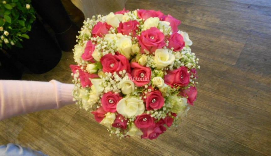 """Bouquet per la ns sposa """"Fuxia"""
