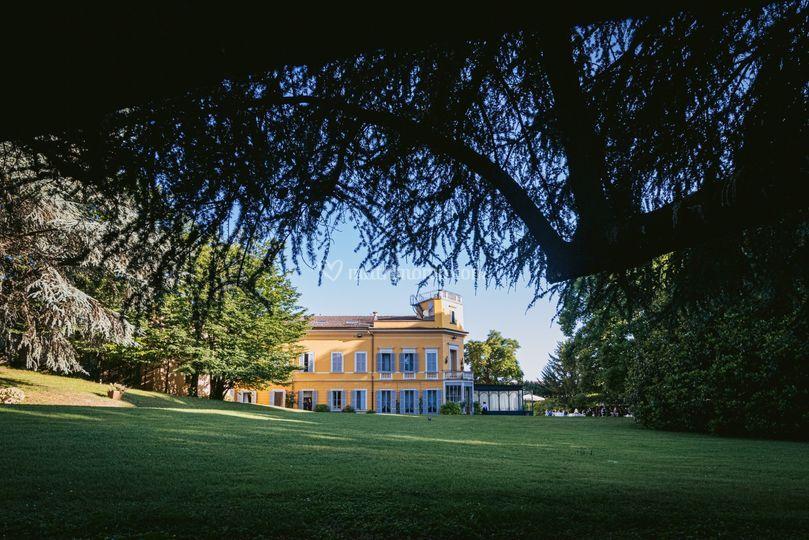La Villa ed il parco