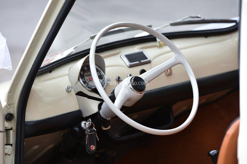 Fiat 500 interni