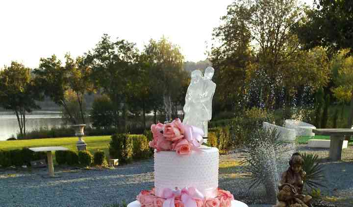 Wedding cake con rose