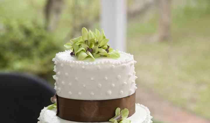 Wedding cake con applicazioni
