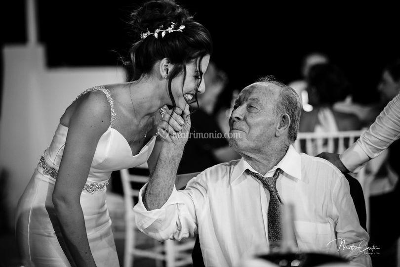 Sposa e nonno