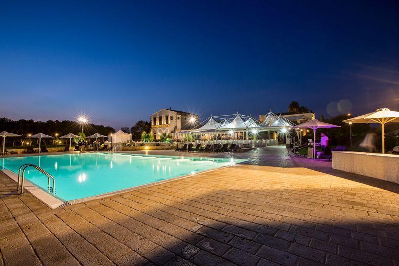 L 39 area piscina di casal sikelio foto 15 for Piantina della piscina