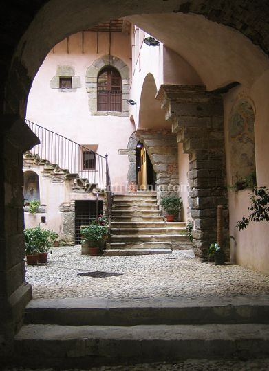 Il cortile interno