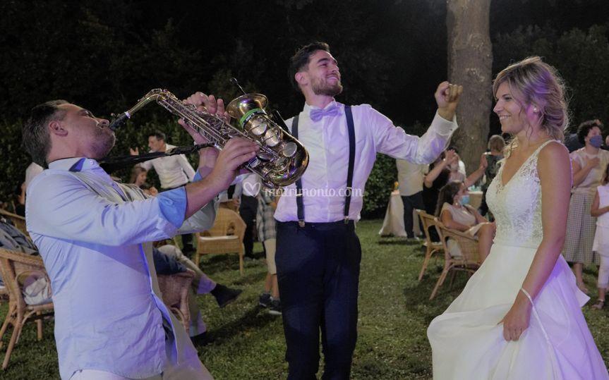 Sax e sposi