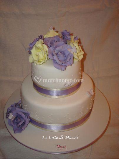 Wedding cake - rose