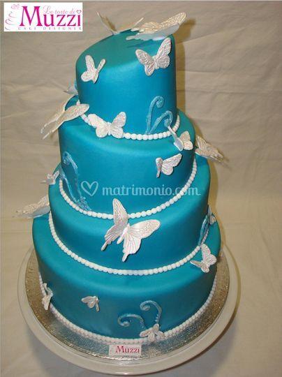 Wedding cake - farfalle