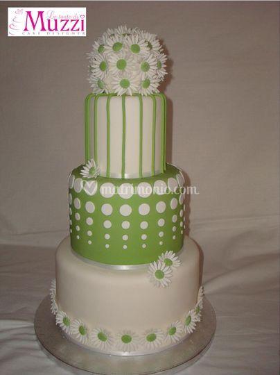 Wedding cake- green
