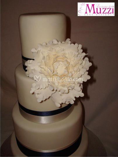 Wedding cake - peony