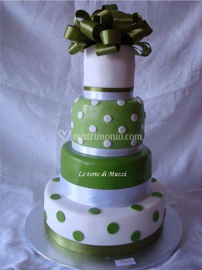 Wedding cake - polka
