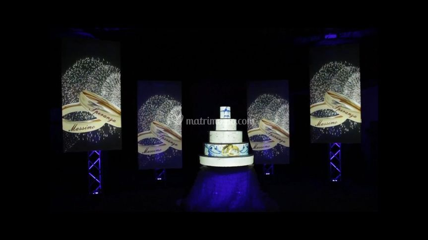 Cake Mapping con pannelli