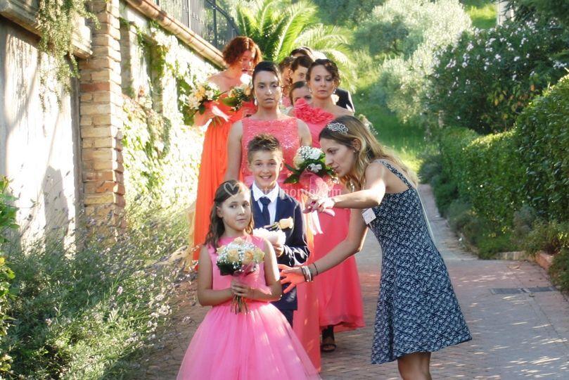 Coordinamento corteo sposa
