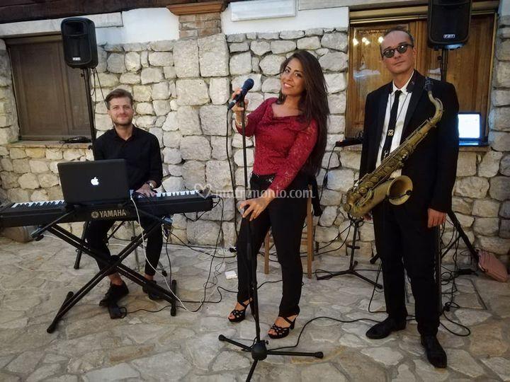 Trio Voce, Sax e Piano