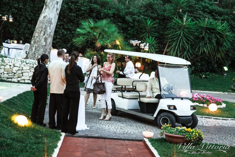 Villa Vittoria Golf Car