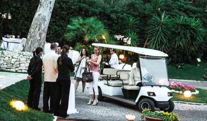 Villa Vittoria Golf Car