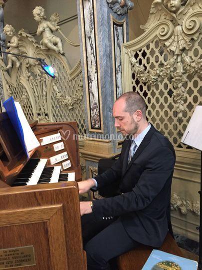Fabio all'organo