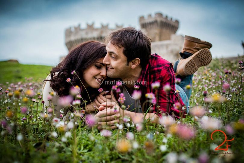 Sposi castello due fotografe