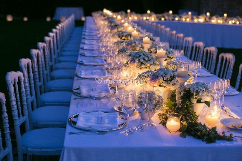 Tavoli imperiali wedding