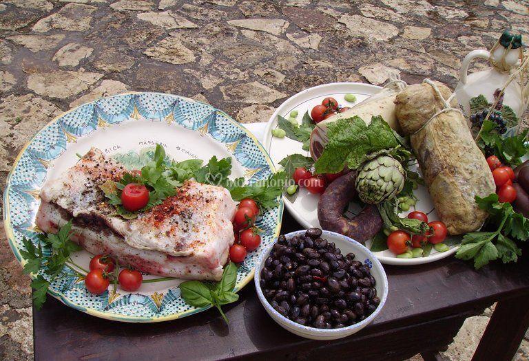 Cucina tipica pugliese di agriturismo masseria sciaiani piccola foto 5