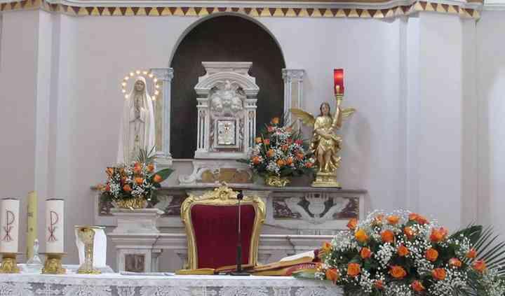 Altare decorato