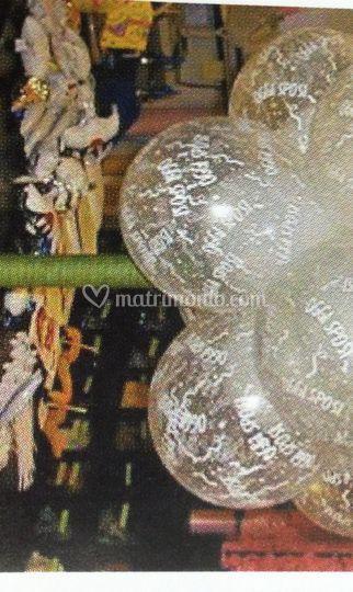 Albero di palloncini