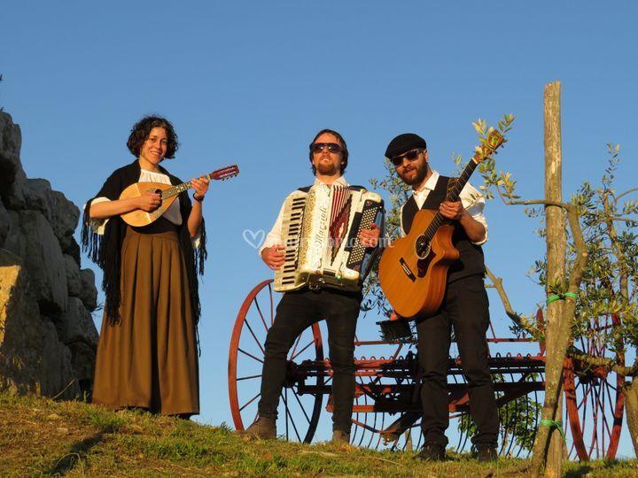 Trio Mandolino-Matrimonio Arez