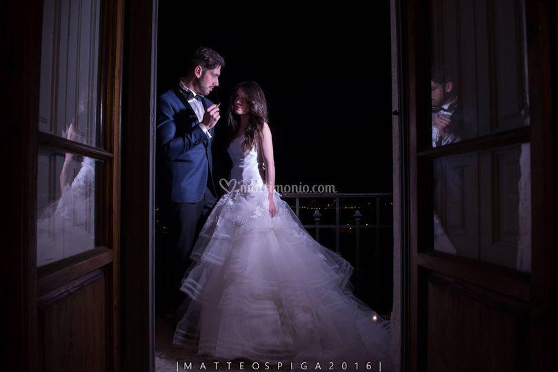 Sposi a Villa Belvedere