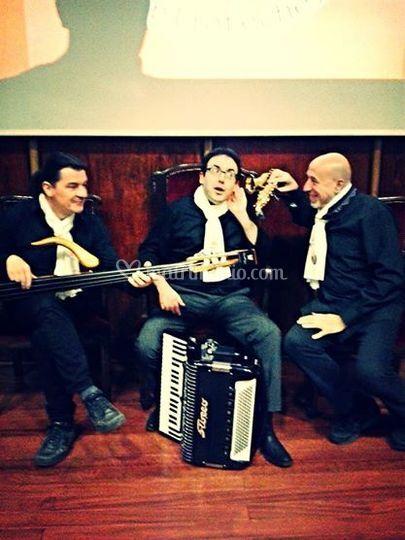 "Scighera Trio a ""Book city"""