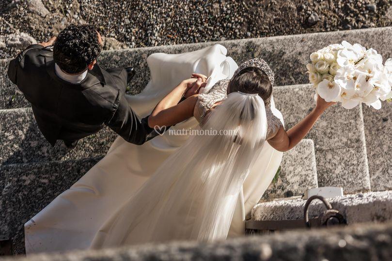 Wedding Day on the lake Como