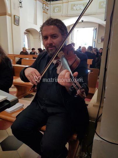 Violinista Marco Giacintucci