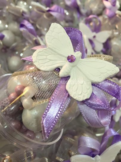 Farfalla in gesso