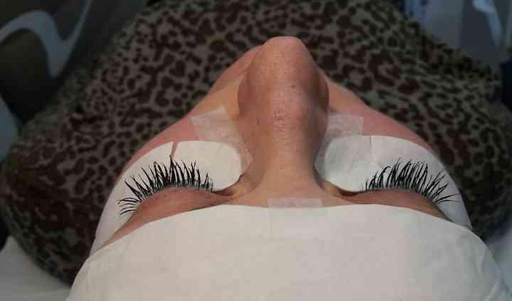 Mascara semipermanente (dopo)